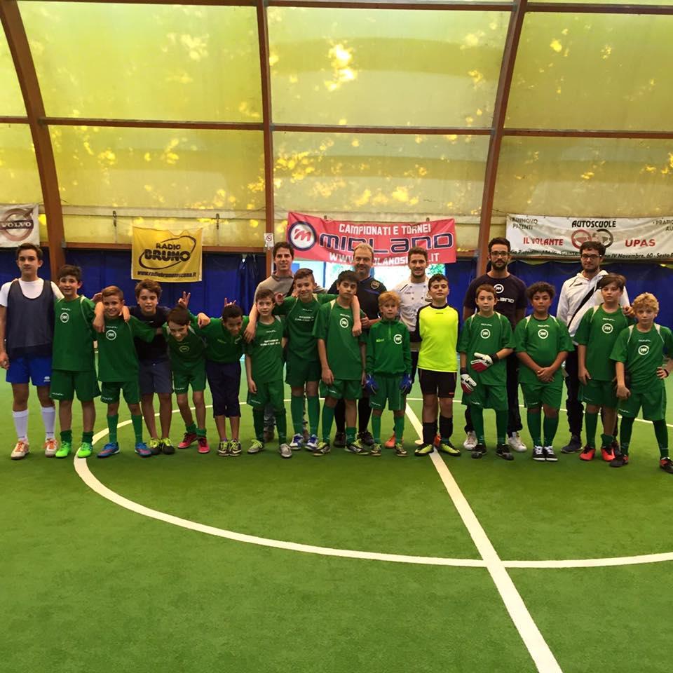 Giornata formativa con gli istruttori della Midland Futsal Academy.